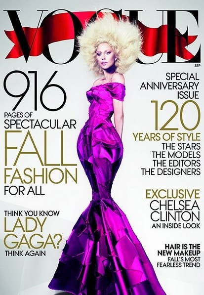 Lady Gaga Vogue sep12