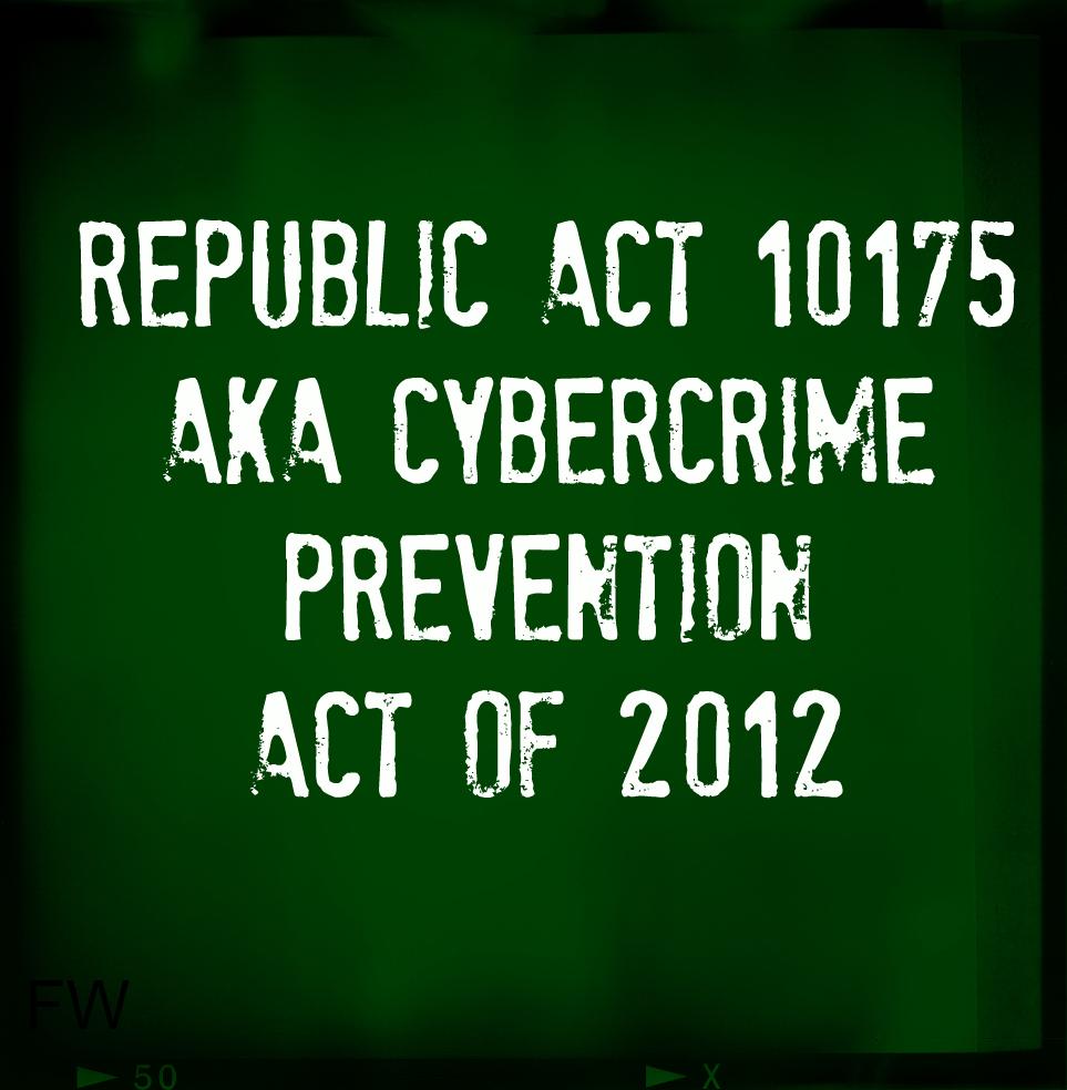 REPUBLIC ACT NO. 10175 PDF DOWNLOAD