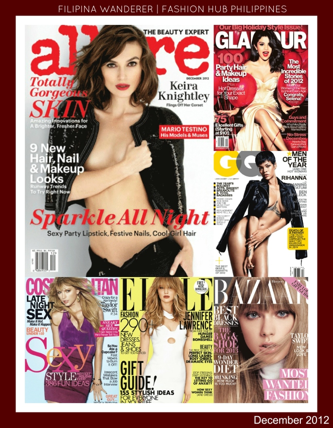 December 2012 Magazine Covers