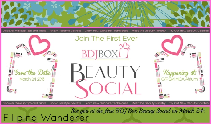See you at the first BDJ Box Beauty Social on March 24!