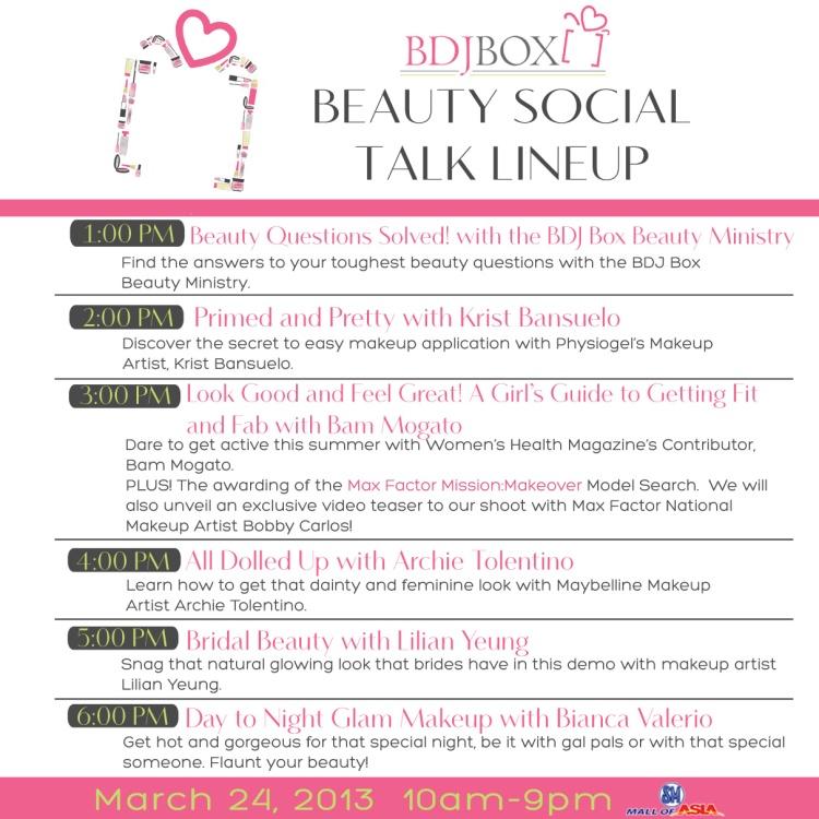 BeautySocial Talks