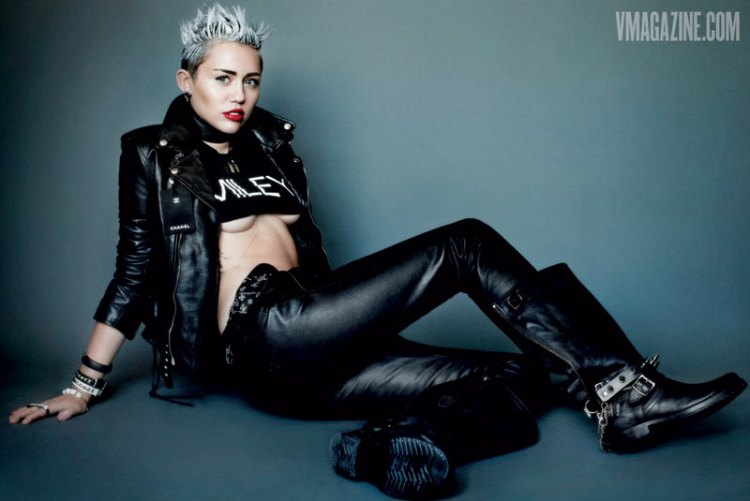 Miley Cyrus V Magazine Filipina Wanderer 2