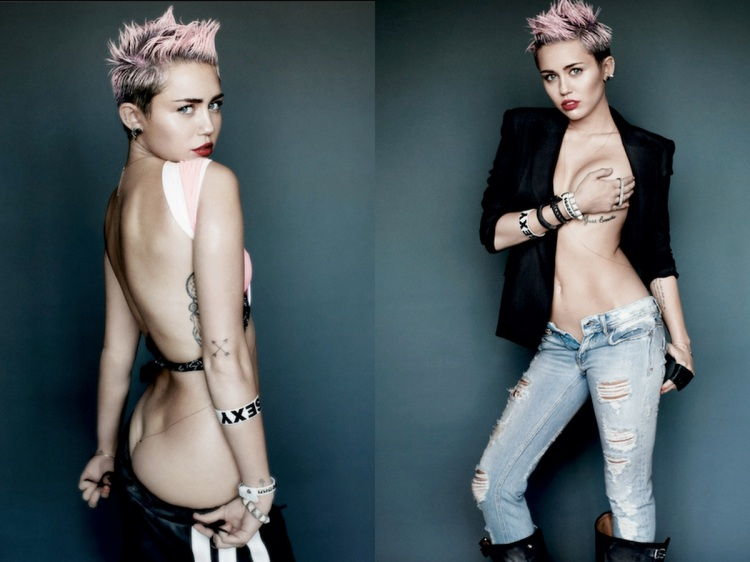 Miley Cyrus V Magazine Filipina Wanderer 3