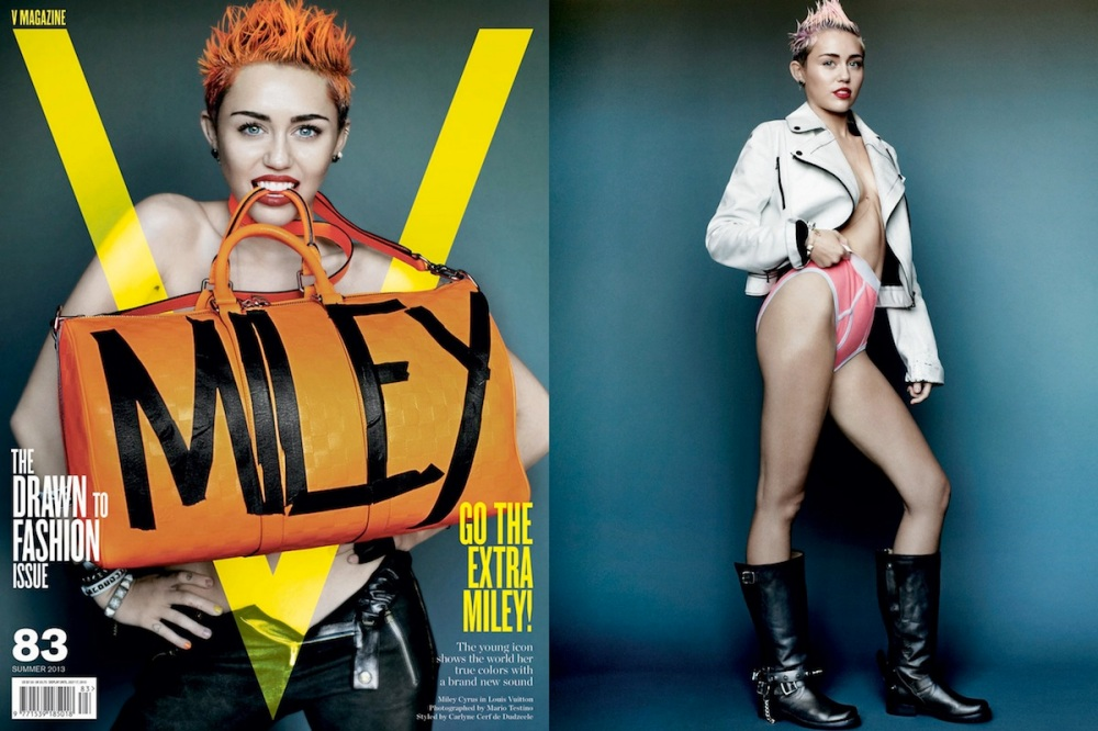 Miley Cyrus V Magazine Filipina Wanderer 4