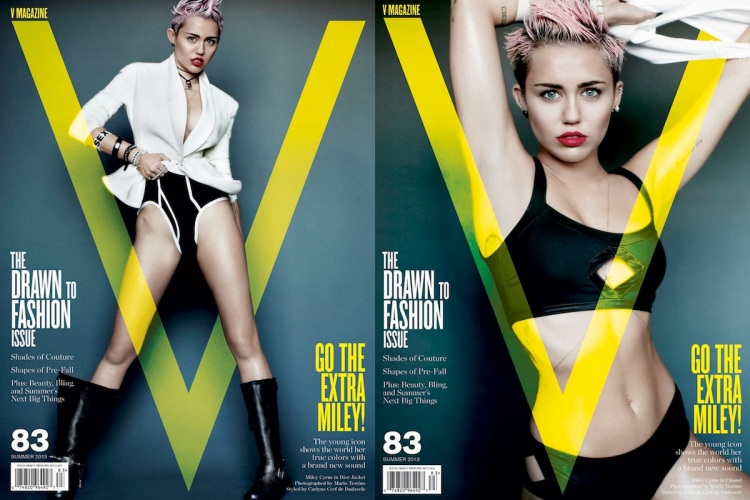 Miley Cyrus V Magazine Filipina Wanderer 5