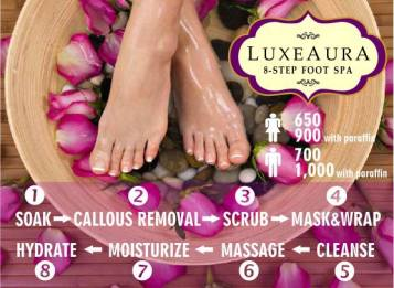 Luxe Aura 8 step foot spa