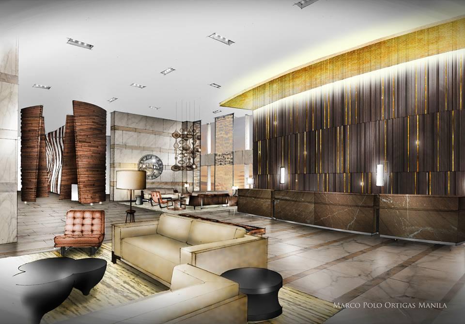 Marco Polo Ortigas Manila lobby