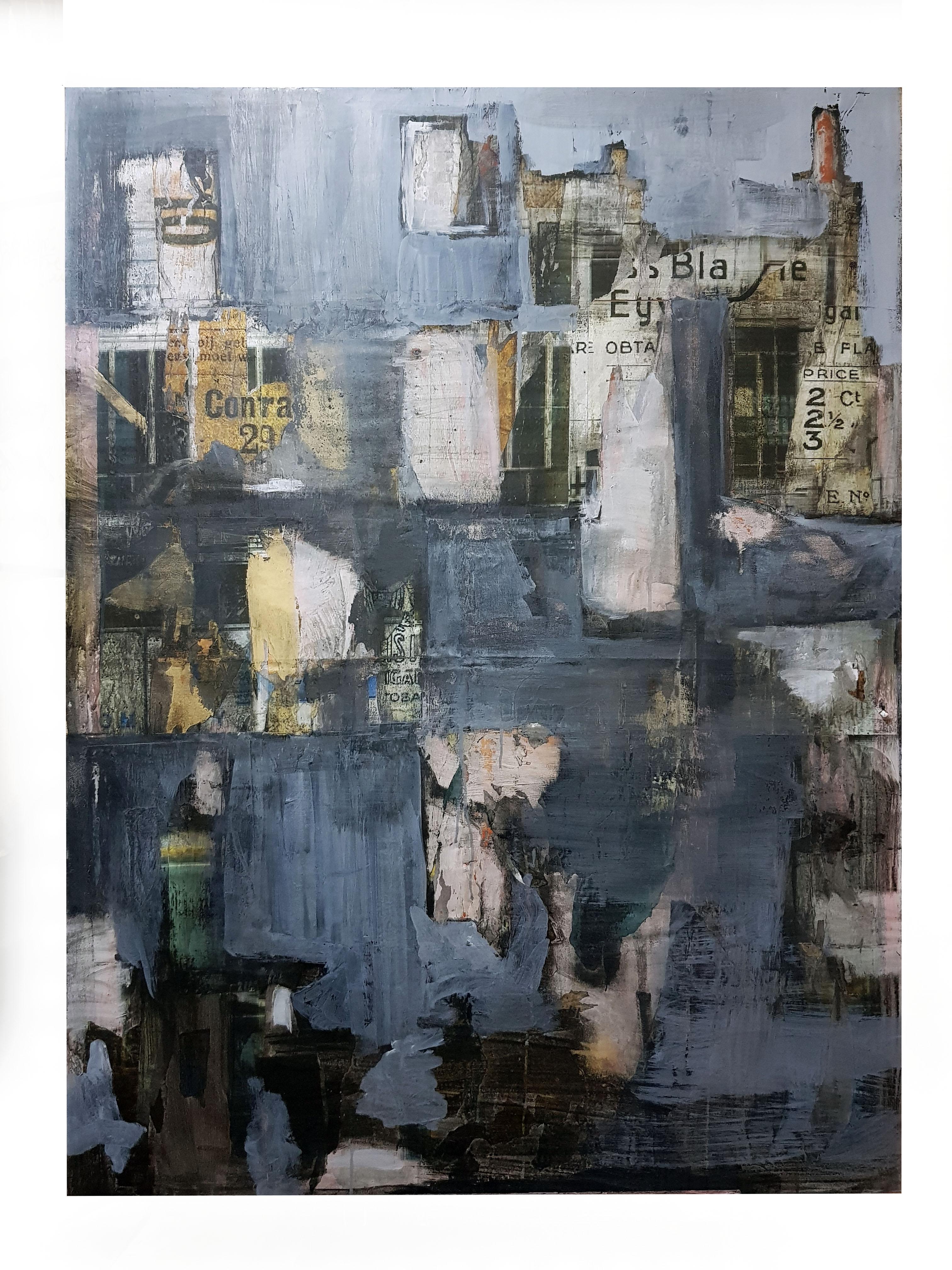 Rosa Luxemburg Straße oil and acrylic on canvas 60 x 48 in 2018.jpg